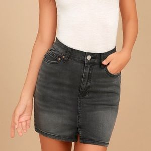 Billabong High Rise denim mini skirt size 26